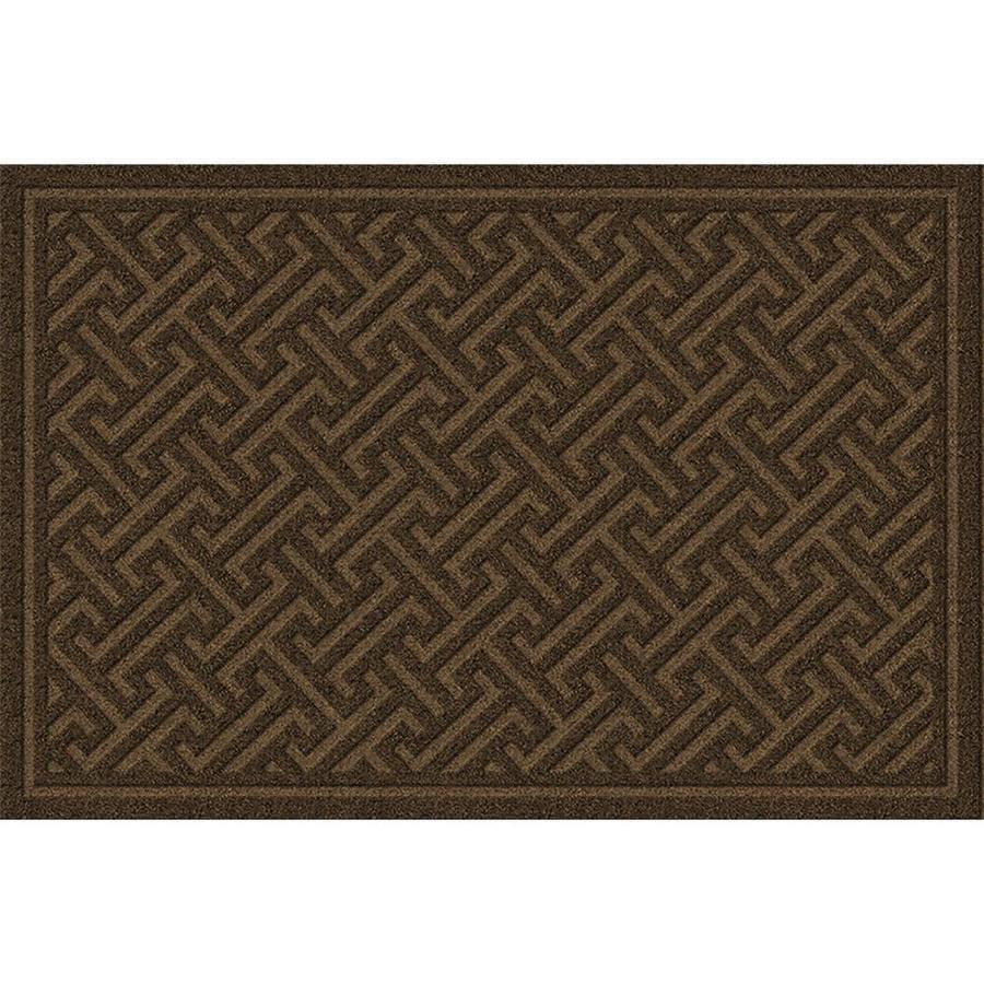 Apache Mills, Inc. Rectangular Door Mat (Actual: 18-in x 30-in)