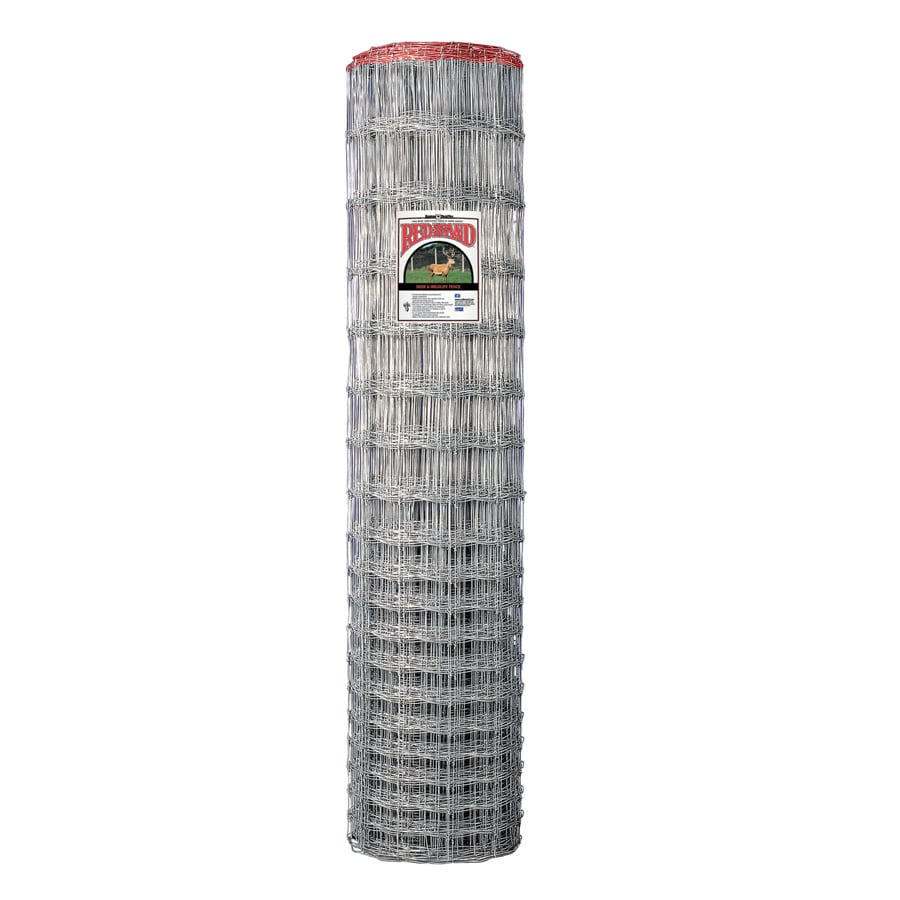 Shop Red Brand High Tensile Field Fence Silver Steel Woven Wire ...