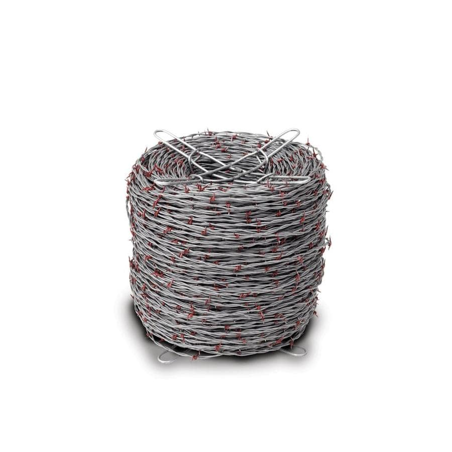 Shop Red Brand (Actual: 1320-ft x 1-ft) Barbed Wire Silver Steel ...