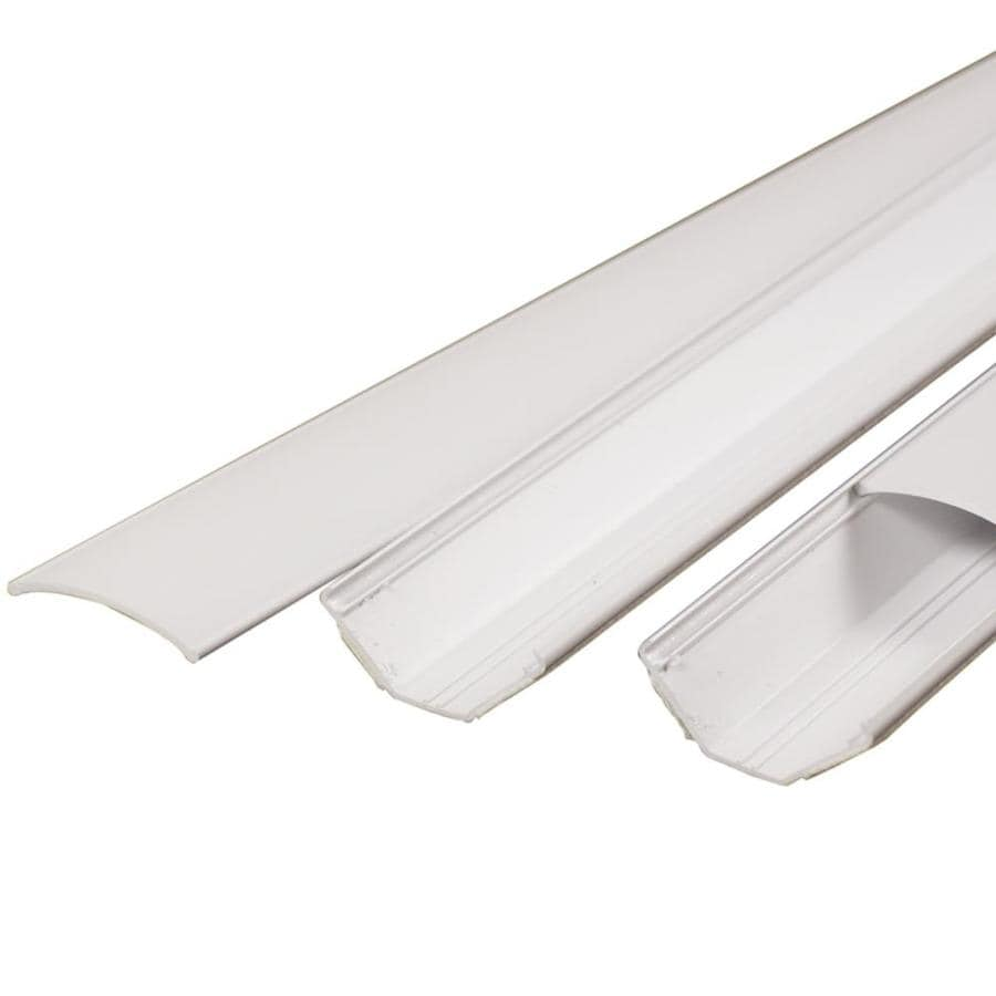 Shop Wiremold 1 Piece 2 In X 60 In Straight Channel White