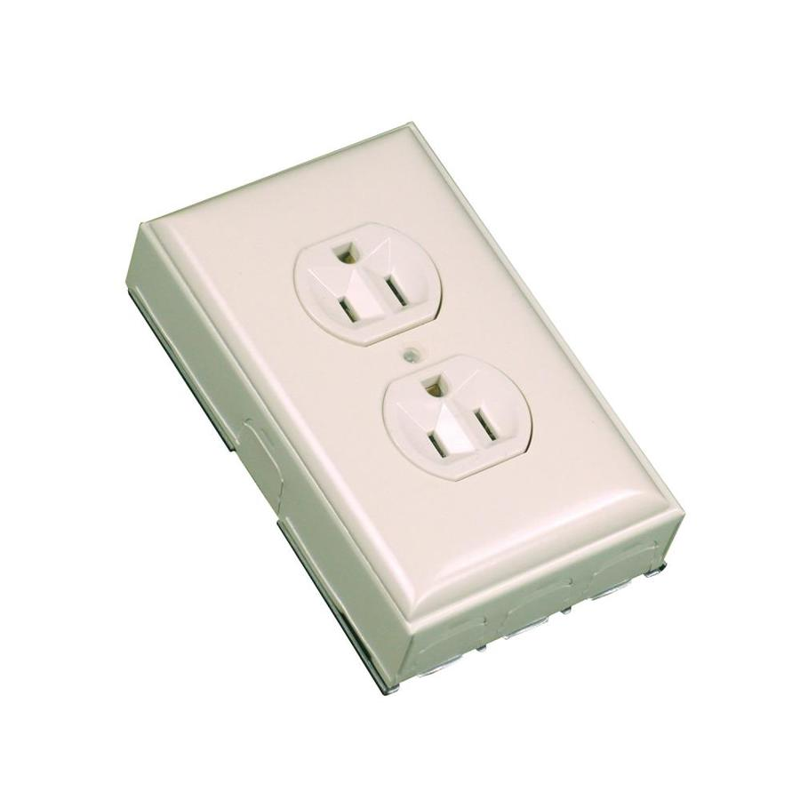 Wiremold 2.875-in x 4.625-in Off-White Cord Cover