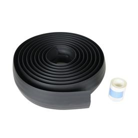 Shop cord organization at lowes legrand 1 piece 0438 in x 180 in overfloor cord protector black cord publicscrutiny Gallery