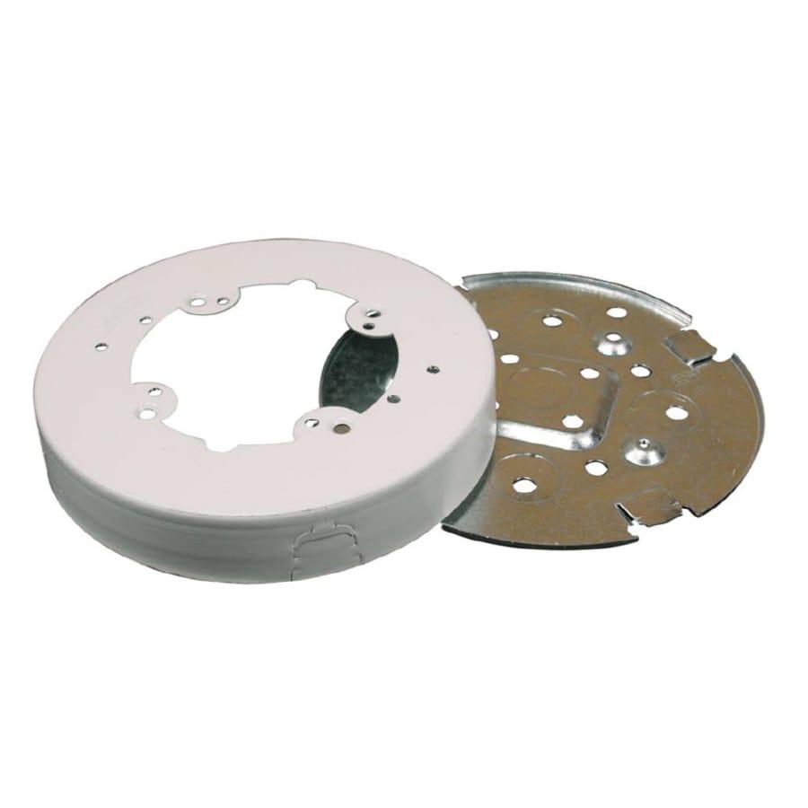 Wiremold 1-Piece White Raceway Fan Box