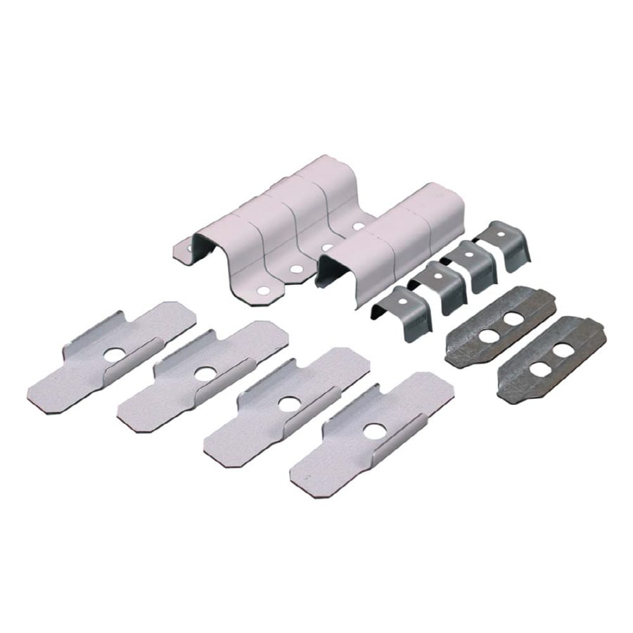 Wiremold 700 17-Piece White Raceway Elbow Kit