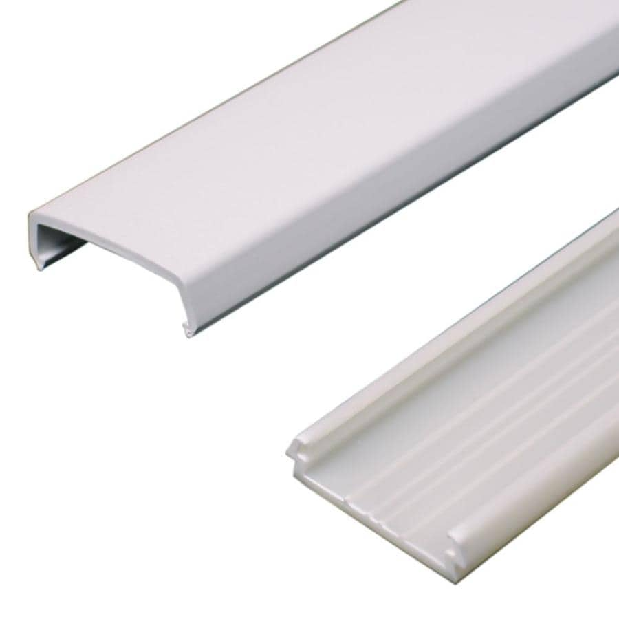 Shop Wiremold Nmw 1 Piece 60 In L White Raceway At Lowes Com
