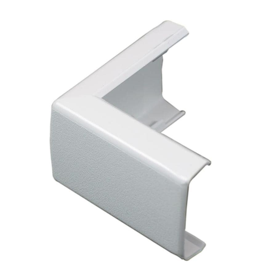 Wiremold 1.375-in x 2.5-in White Cord Cover