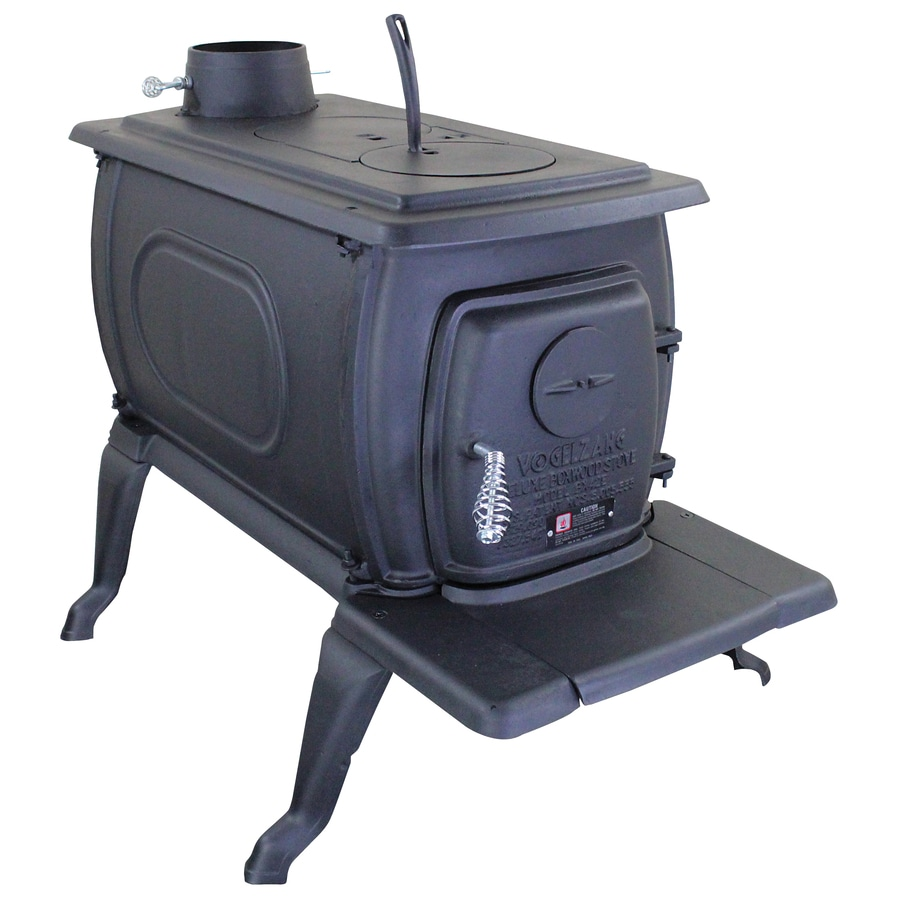 Vogelzang 1,200-sq ft Wood Stove