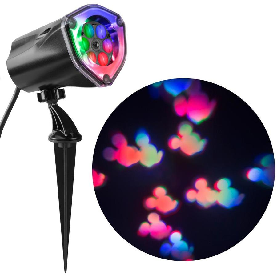 Disney Lightshow Projection Multi Function Multicolor Led Design Christmas Indoor Outdoor Stake Light Projector