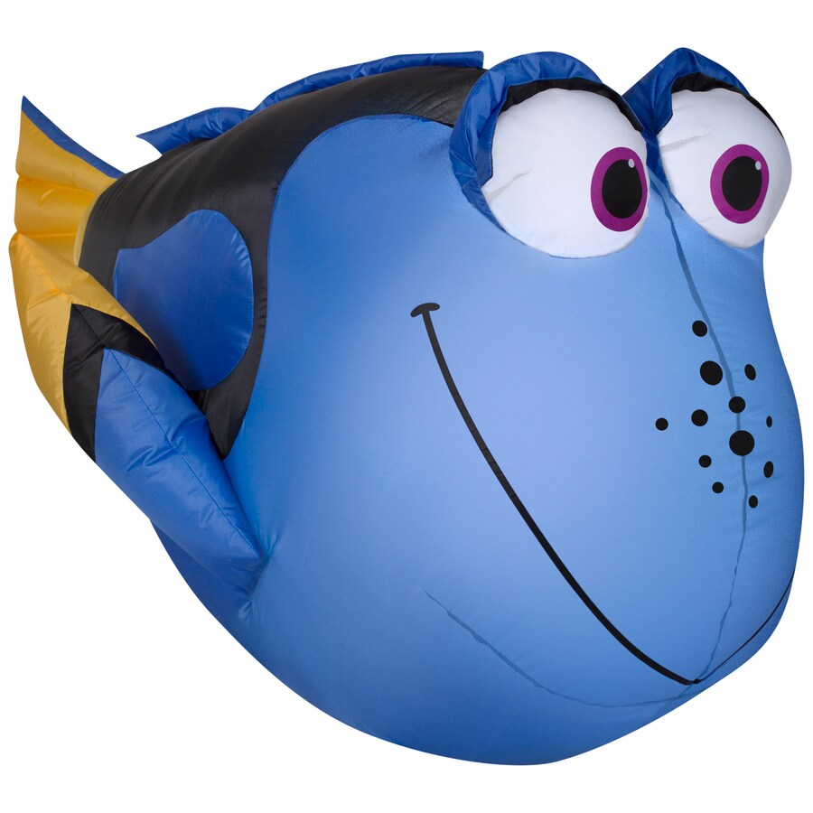 Holiday Living 2.95-ft x 2.23-ft Lighted Dory Christmas Inflatable