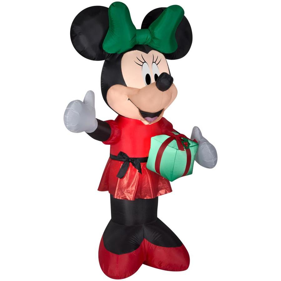 Disney Airblown Minnie w/Present