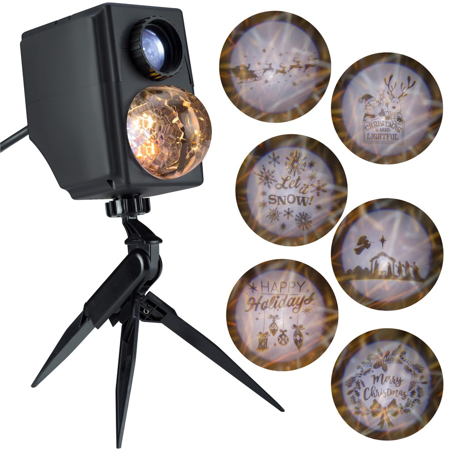 gemmy lightshow projection multi function led multi design christmas indooroutdoor stake light