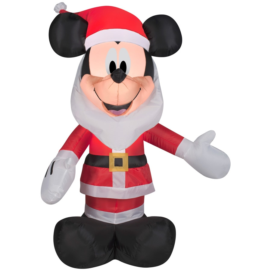 Shop Disney 3 51 Ft X 2 49 Ft Lighted Mickey Mouse
