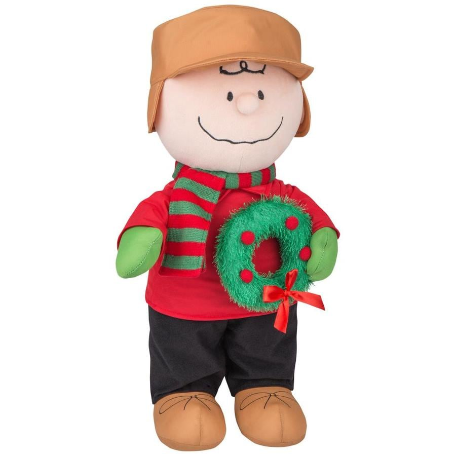 Shop Gemmy Peanuts Charlie Brown Greeter At Lowes Com