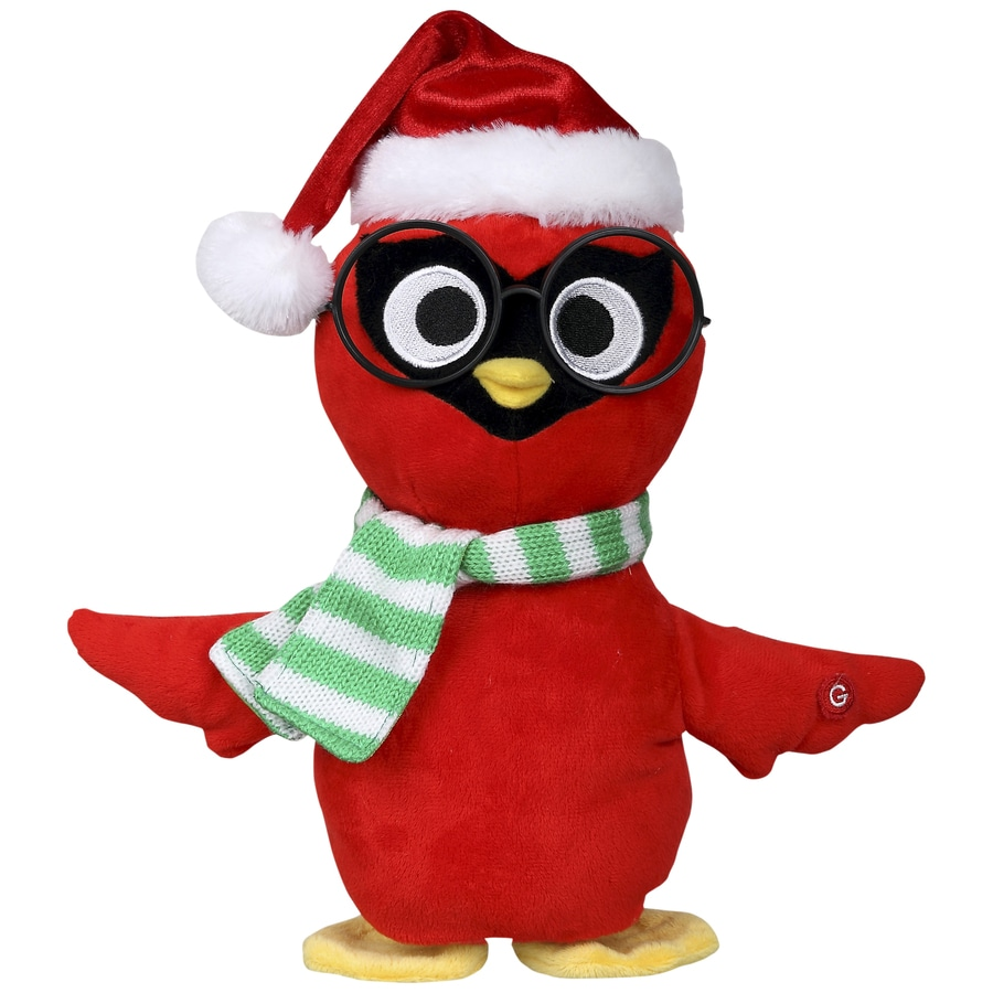 gemmy animatronic musical cardinal indoor christmas decoration - Animatronic Christmas Decorations