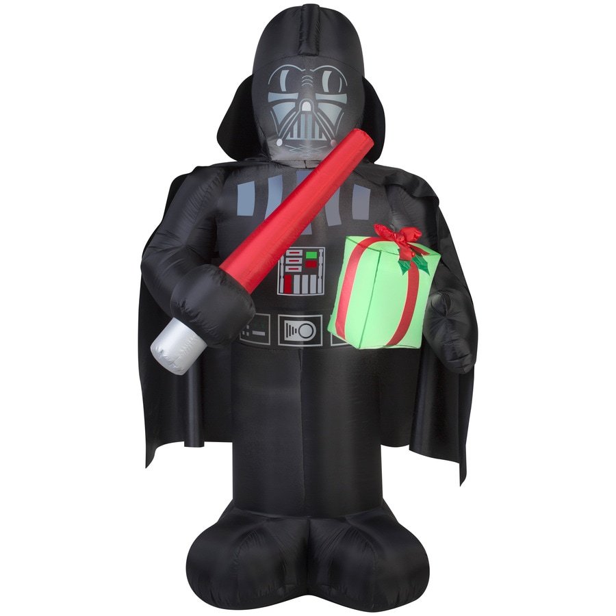 gemmy 6 ft x 229 ft lighted star wars darth vader christmas inflatable - Star Wars Inflatable Christmas Decorations