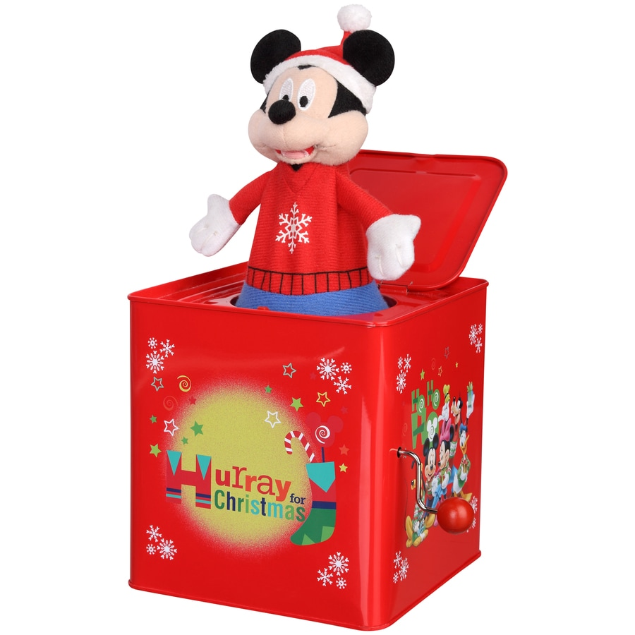 Disney Mickey & Friends Musical Jack In The Box Figurine