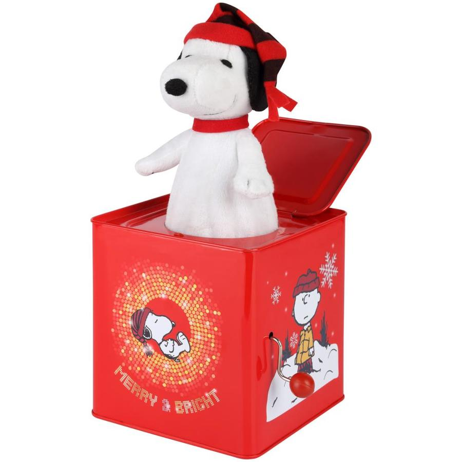 gemmy peanuts animatronic musical jack in the box christmas gift - Jack In The Box Open On Christmas