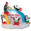 Holiday Living 6.1-ft x 6.23-ft Lighted Penguin Christmas Inflatable Deals