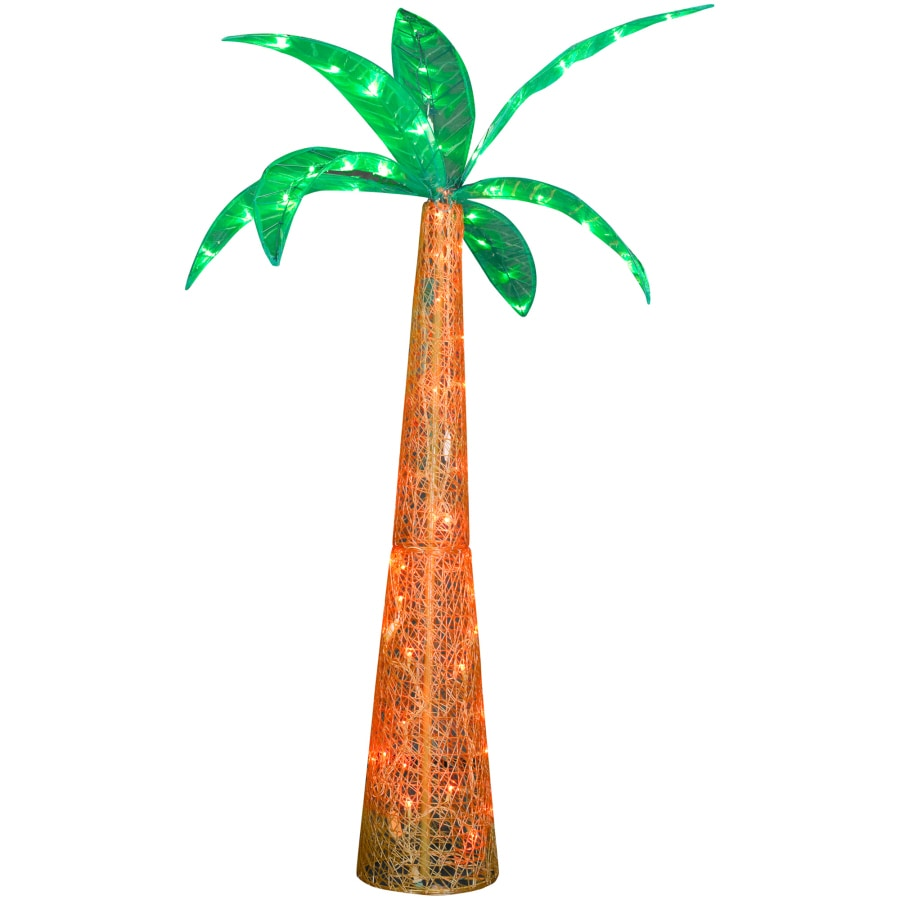 Gemmy Metal Palm Tree Light