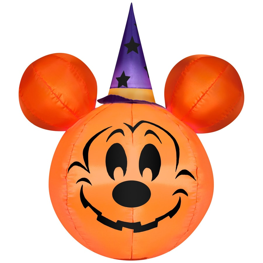 Shop Gemmy 3 34 Ft Lighted Mickey Mouse Halloween
