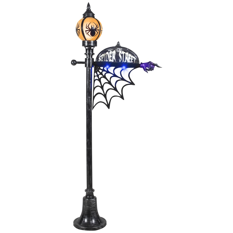 gemmy lamp post outdoor halloween decoration - Lowes Halloween Decorations