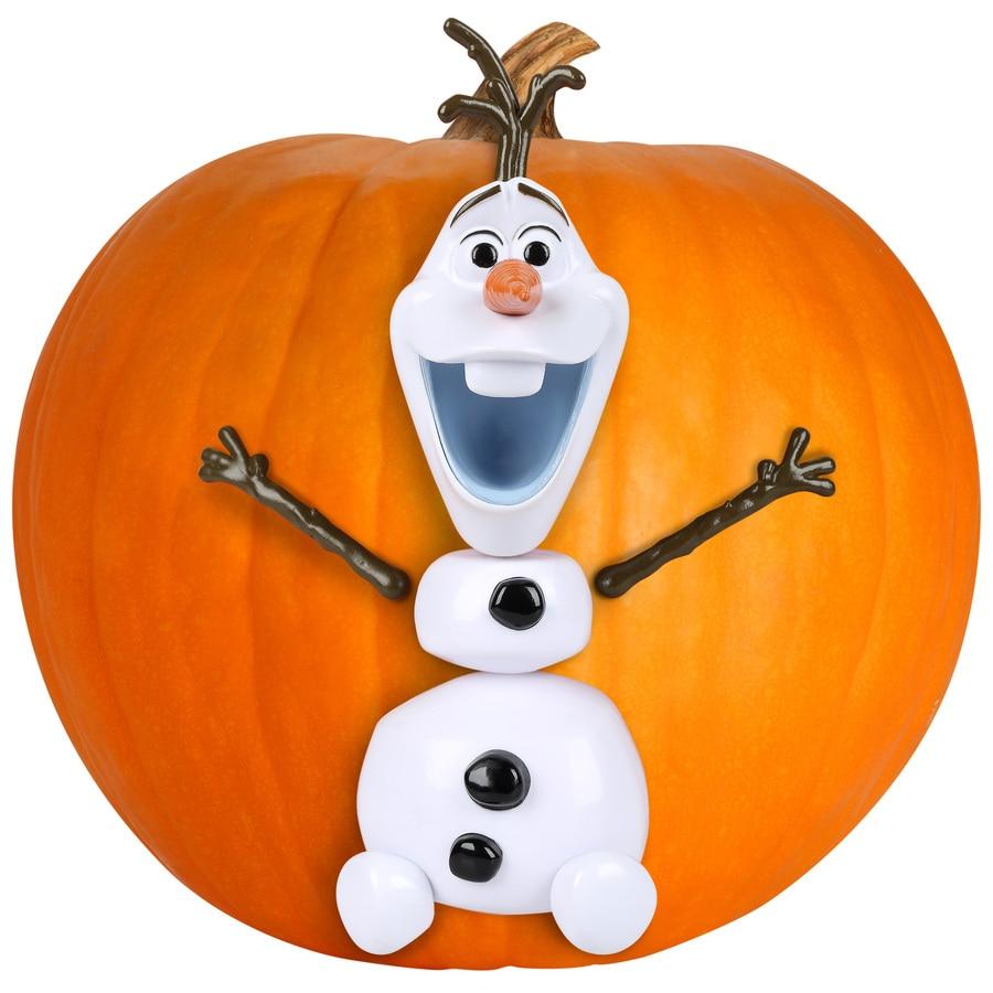Gemmy Olaf Pumpkin Push-In