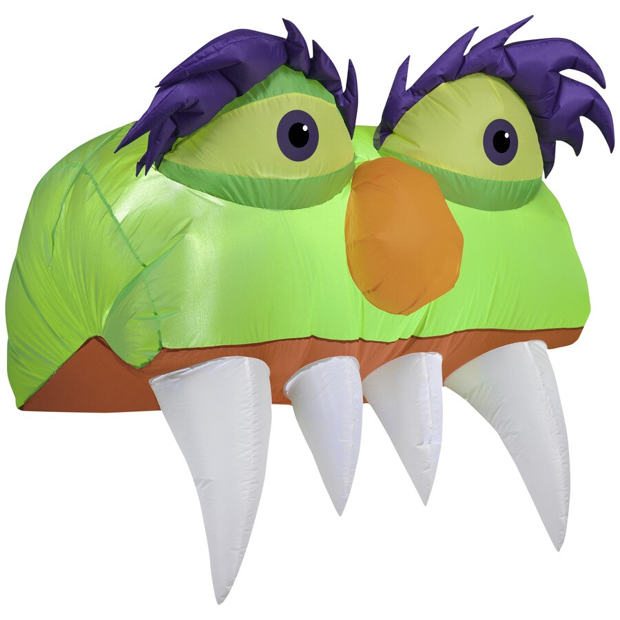 Holiday Living 3.28-ft x 3.5-ft Lighted Monster Halloween Inflatable