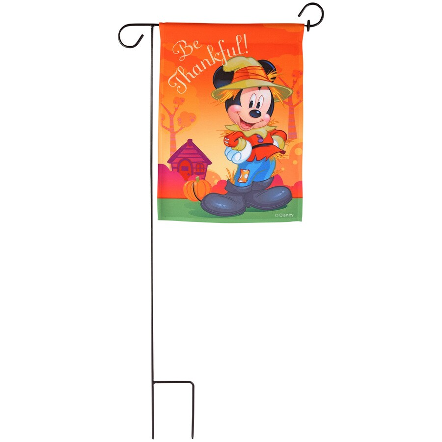 Gemmy 1.4-ft W x 3-ft H Thanksgiving Garden Flag