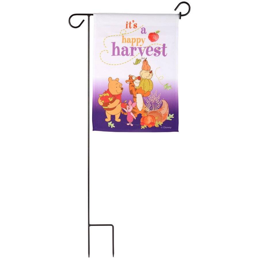 Gemmy 1.4-ft W x 3-ft H Halloween Garden Flag