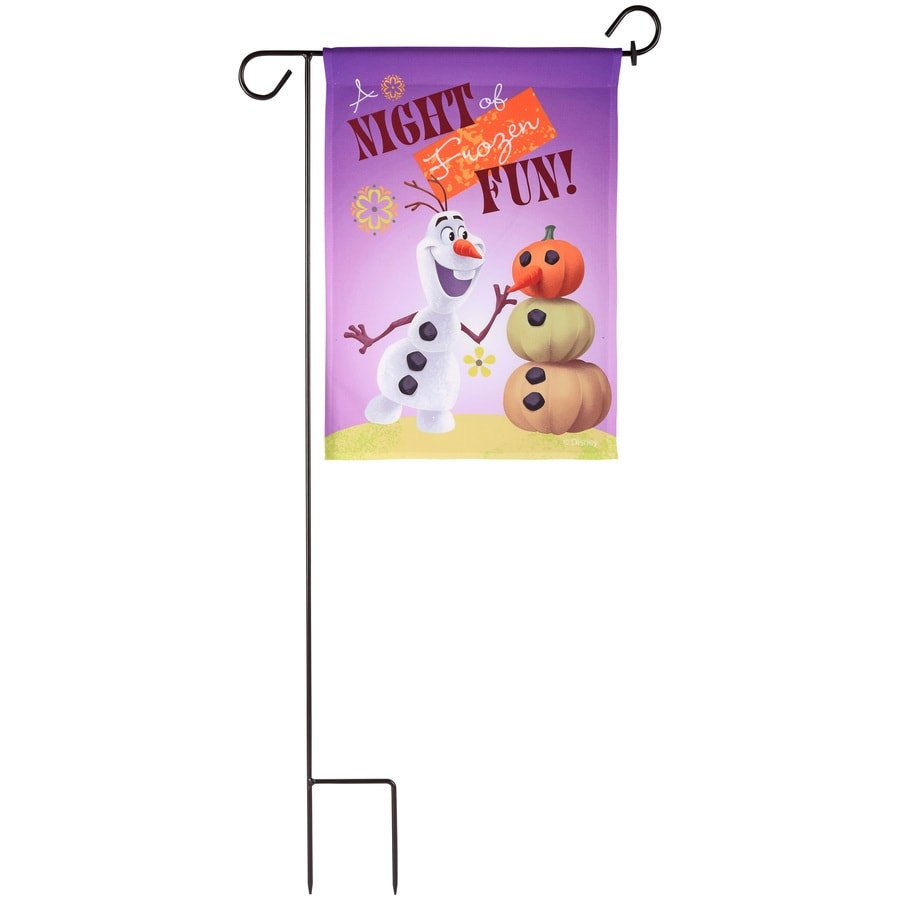 Gemmy 1.4-ft W x 3-ft H Fall Garden Flag