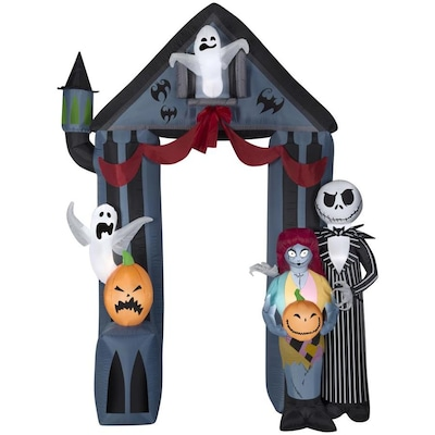Stupendous Airblown Archway Nightmare Before Christmas 9 Foot Halloween Inflatable Bralicious Painted Fabric Chair Ideas Braliciousco