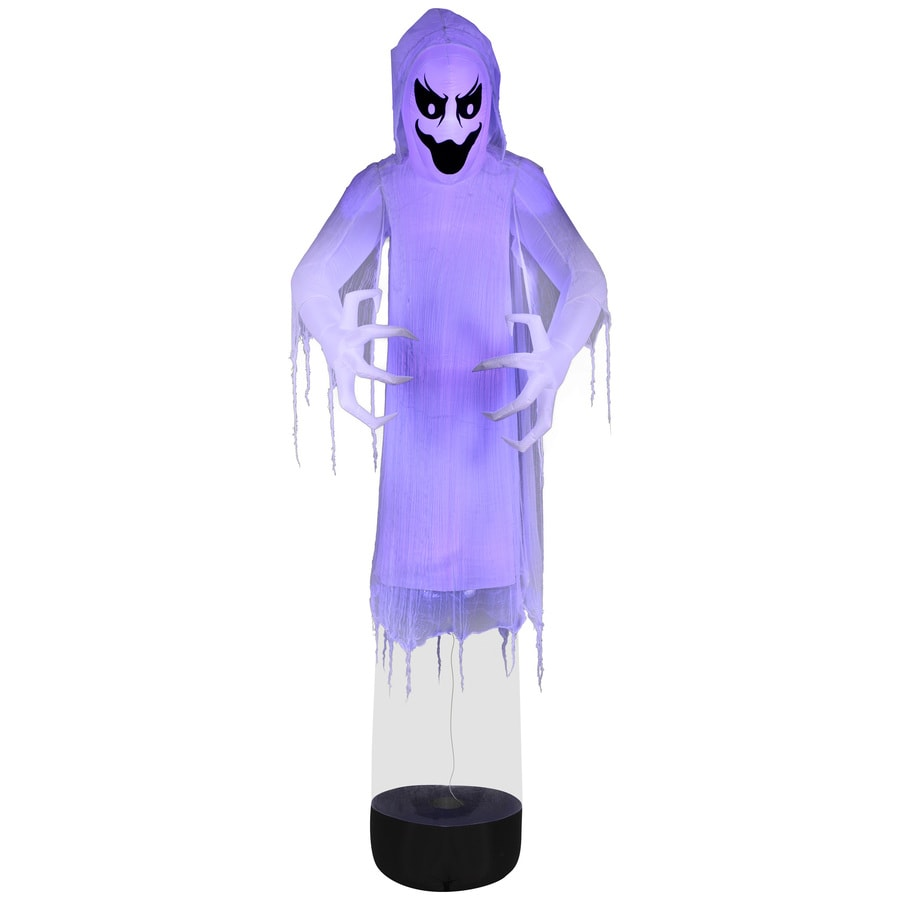 holiday living 12 ft x 436 ft lighted reaper halloween inflatable - Halloween Supply Store