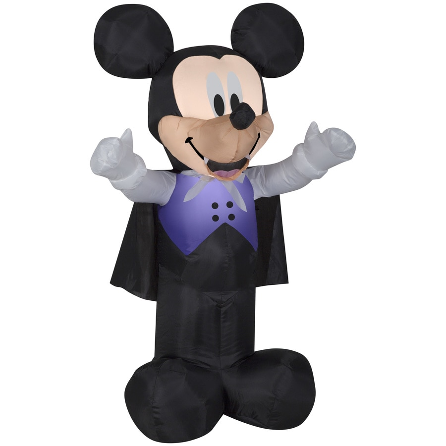 disney mickey friends 35 ft x 209 ft lighted mickey mouse halloween inflatable - Lowes Halloween Decorations