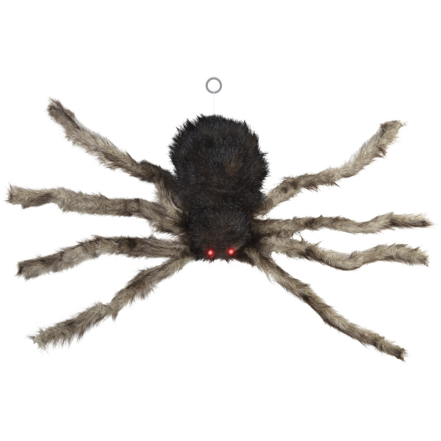 Holiday Living Pre-Lit Spider Tabletop Decoration with Twinkling Red LED Lights