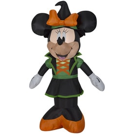 disney mickey friends 35 ft x 239 ft lighted minnie mouse halloween inflatable - Lowes Halloween Inflatables