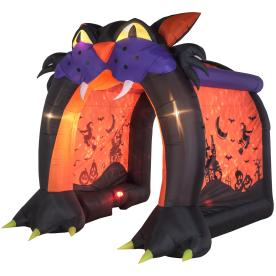 holiday living 919 ft x 961 ft lighted haunted house halloween inflatable