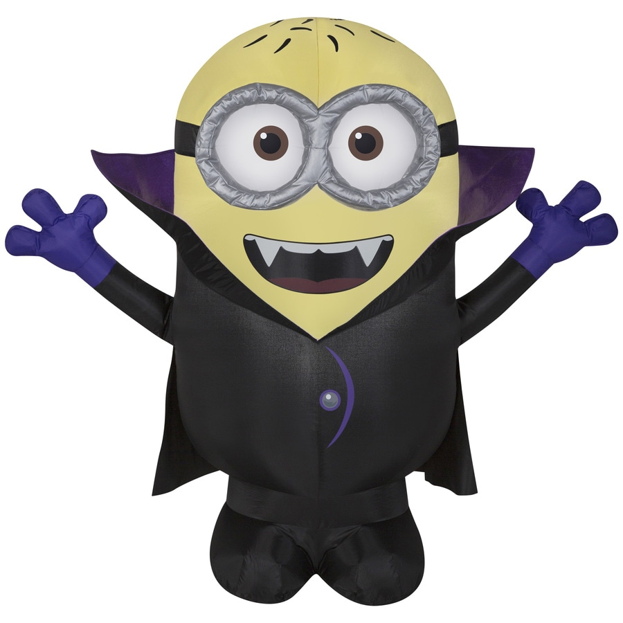 Universal Despicable Me 3.5-ft x 3.93-ft Lighted Minion Halloween Inflatable