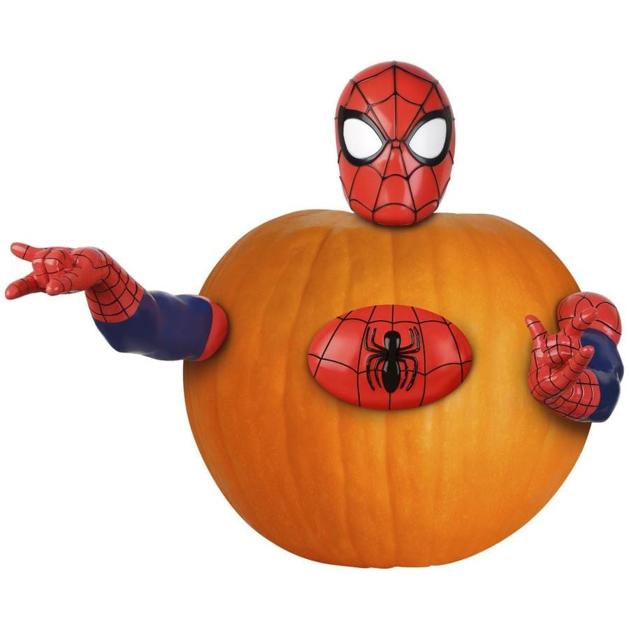 Gemmy Marvel Pumpkin Push-Ins
