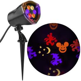disney mickey multi function redorangepurplegreen led multi design - Lowes Halloween