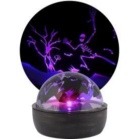 Gemmy Shadow Lights Multi Function Purple Led Multi Design Halloween