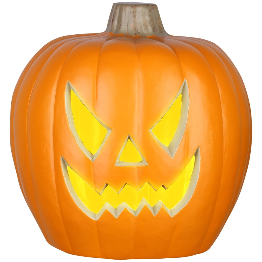 Holiday Living Pre-Lit Musical Jack-o-lantern Jack-o-latern with Twinkling Multicolor Led Lights