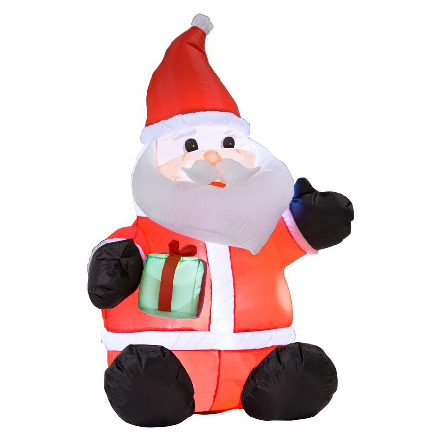 Chubby santa inflatable