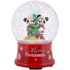 gemmy mickey friends animatronic musical mickey and minnie christmas gift - Mickey And Minnie Christmas Decorations