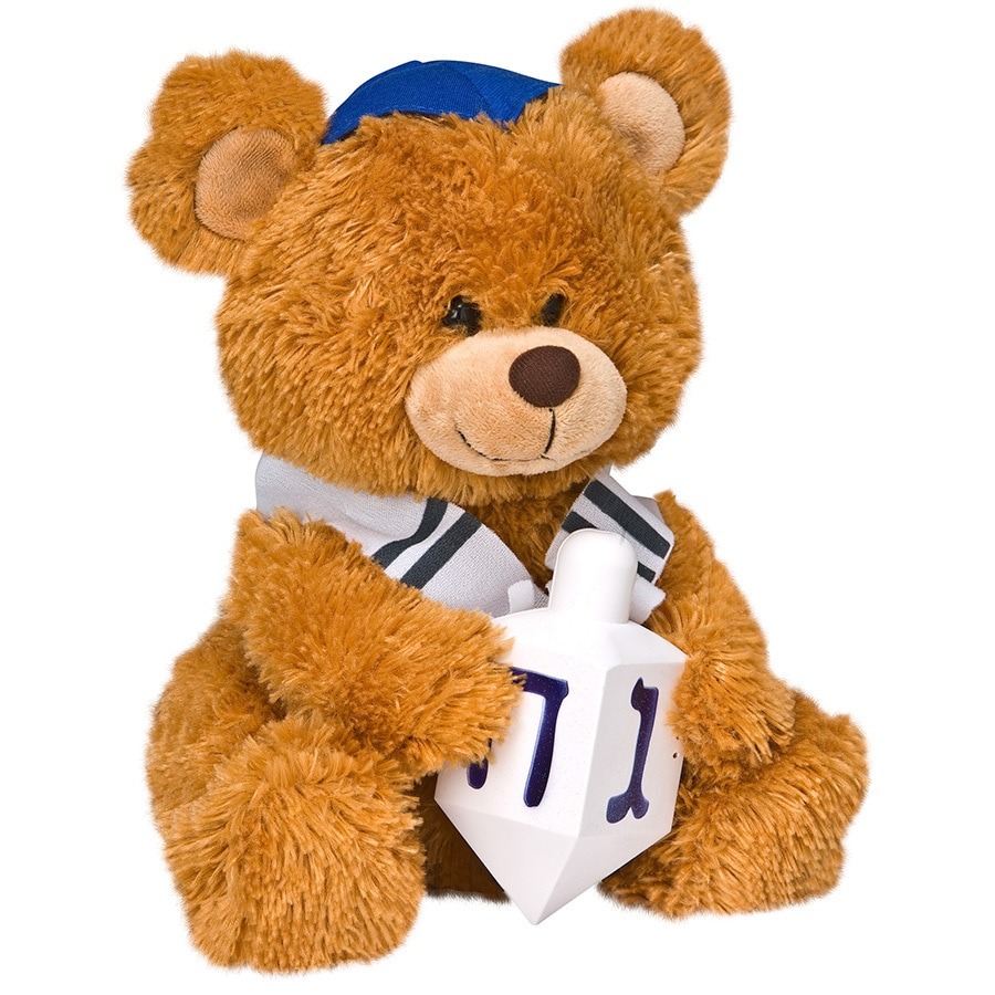 Gemmy Animatronic Musical Fabric Freestanding Dreidel