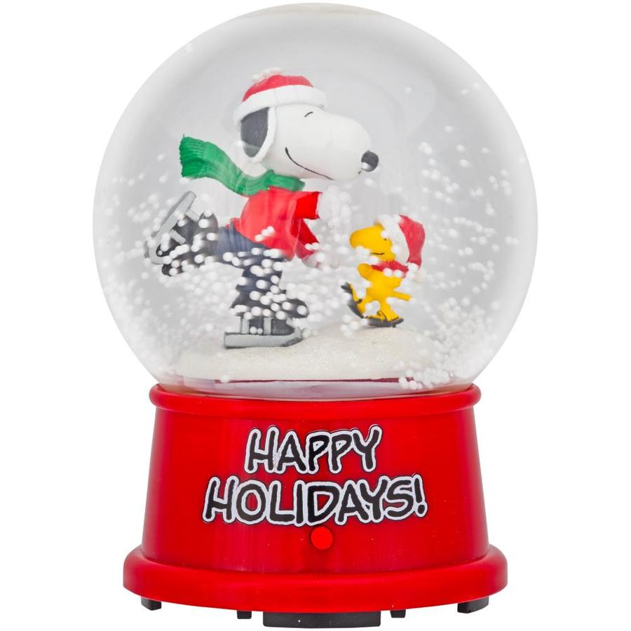 Shop Gemmy Peanuts Animatronic Musical Snoopy Christmas Gift at ...