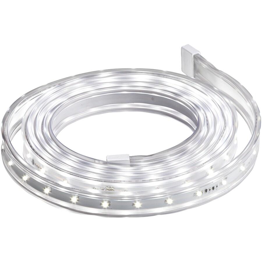 Gemmy 12-1/2-ft Plastic Flex Tech Clear Christmas Ribbon