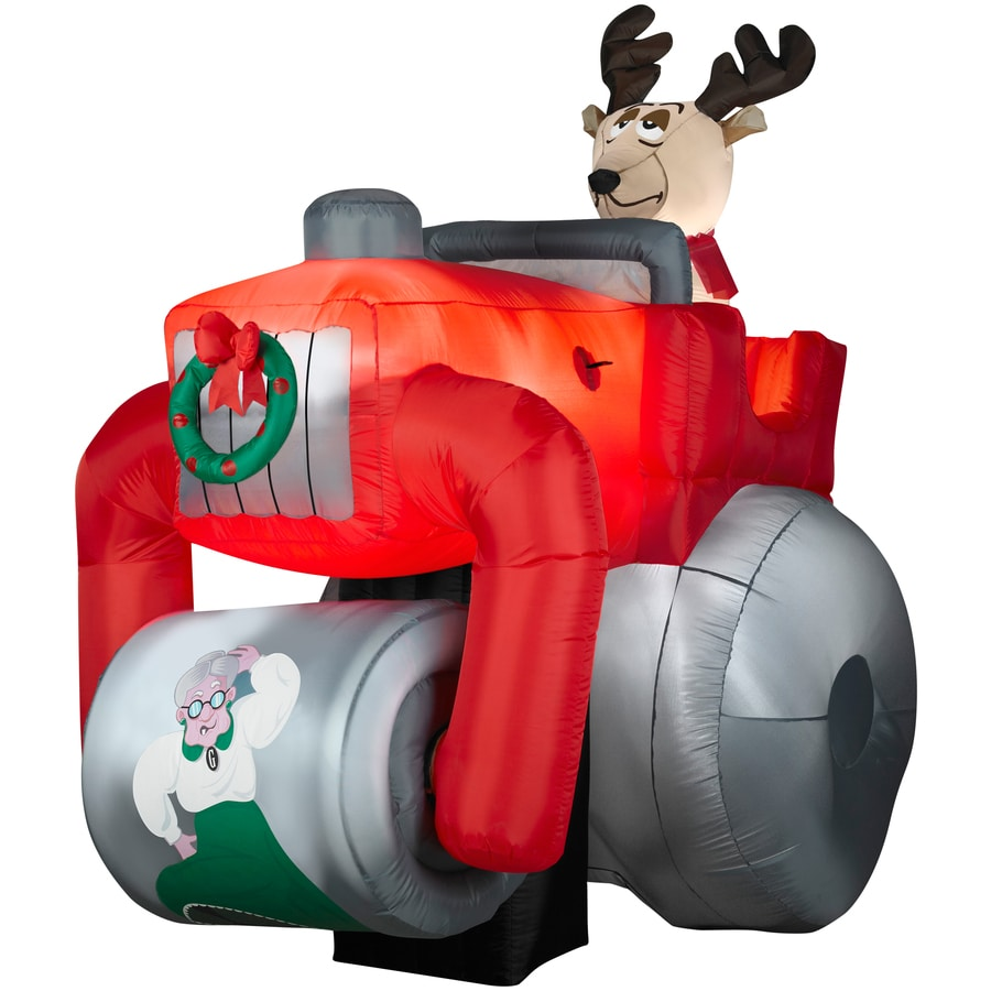 Shop gemmy christmas inflatable at lowes