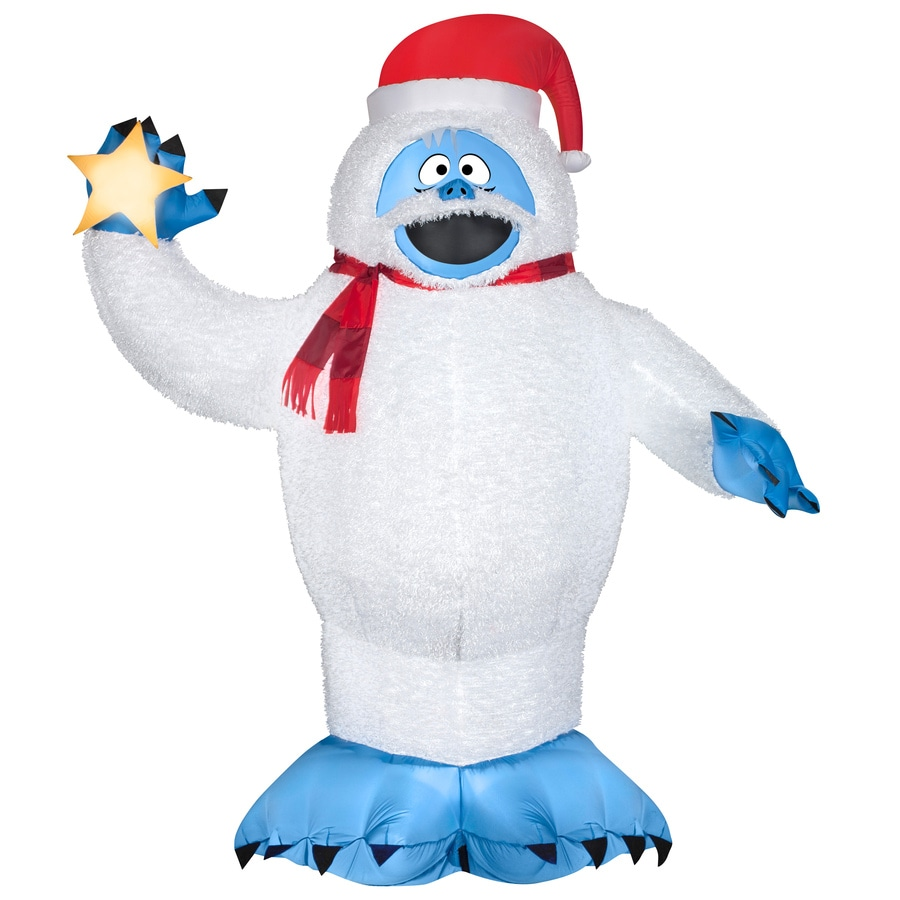 Shop gemmy x lighted bumble christmas for Abominable snowman outdoor christmas decoration