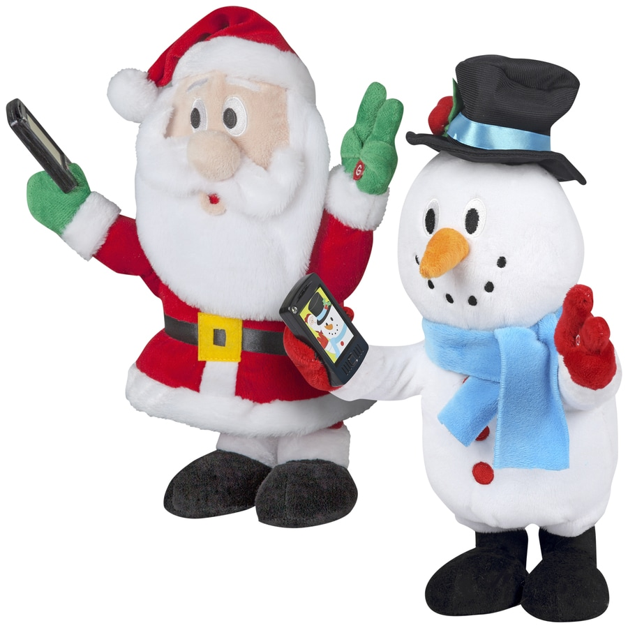 Shop Gemmy Musical Animatronic Indoor Christmas Decoration at ...
