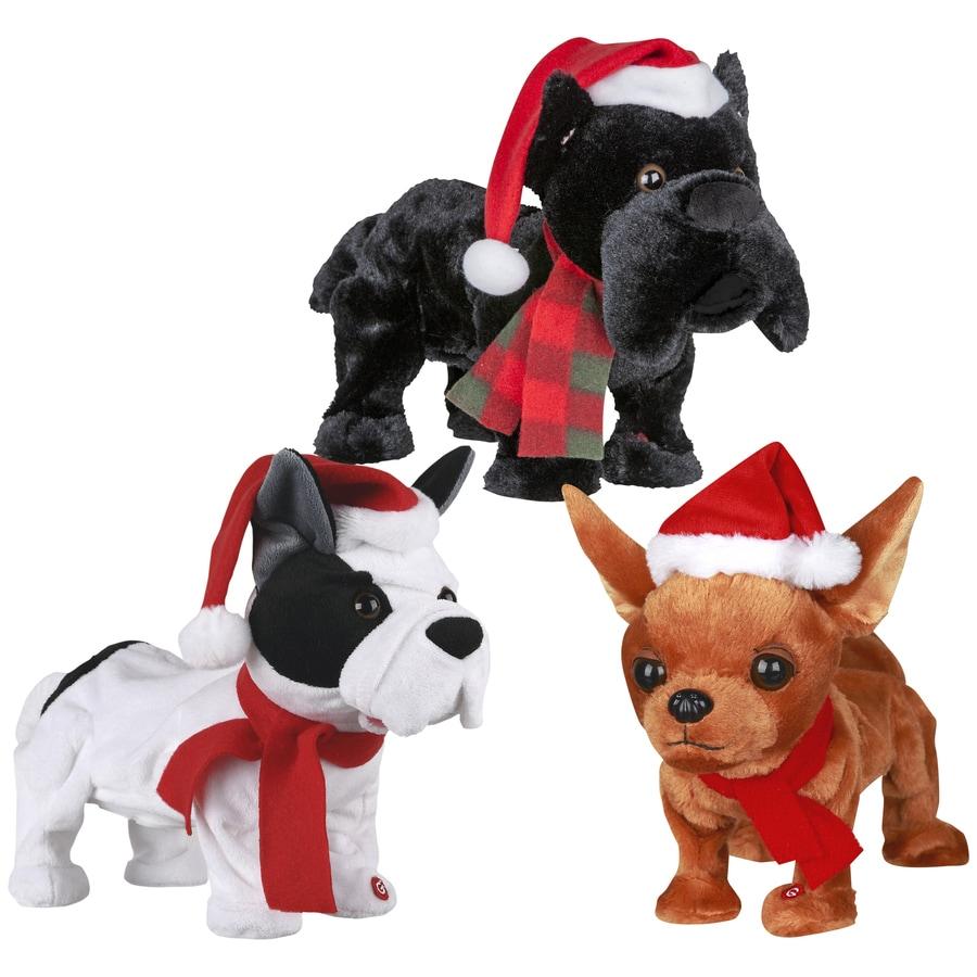 gemmy musical animatronic dachshund indoor christmas decoration